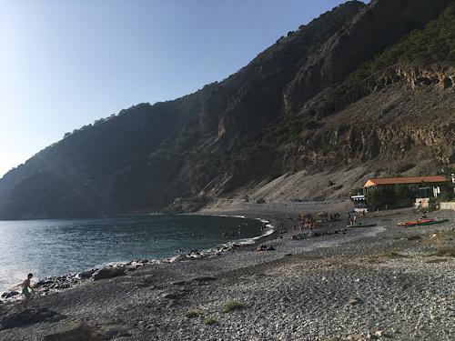 Agia Roumeli tengerpart