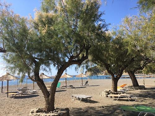 Agia Galini tengerpart