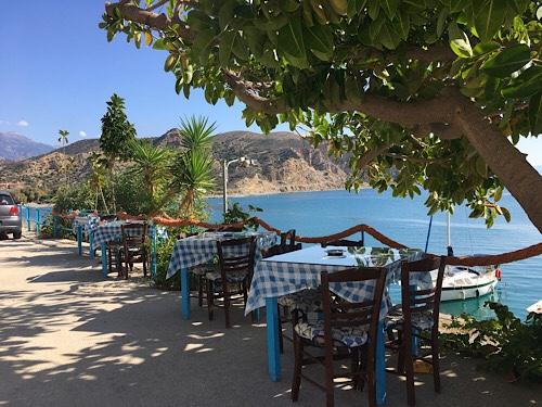 Agia Galini tavernája