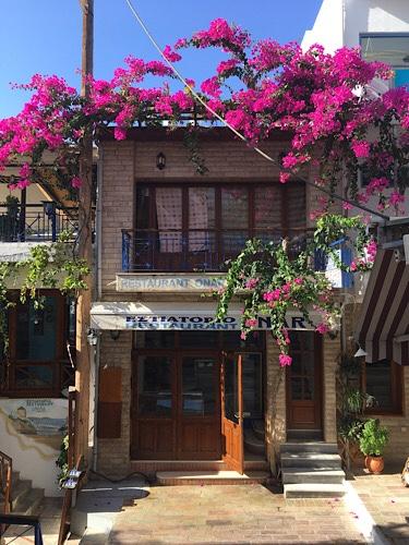 Étterem Agia Galiniben