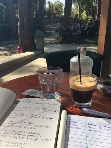 Freddo espresso Görögország