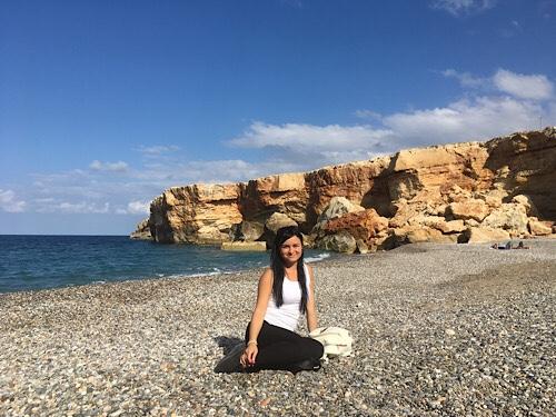 Rethymno strandok Spilies beach