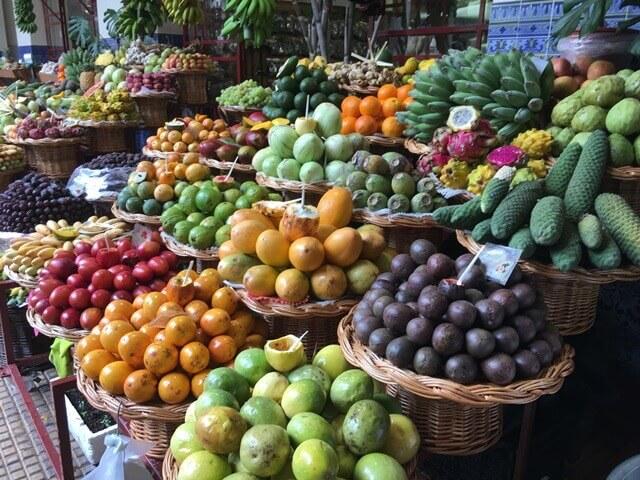 Funchal piac