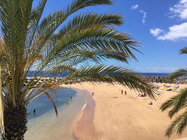 Homokos strand Madeira