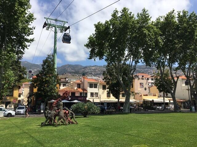 Madeira felvonó Madeira libegő