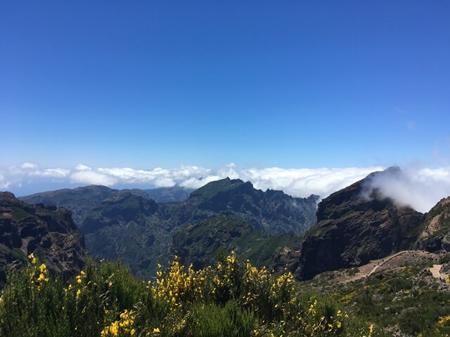 Madeira kilátás