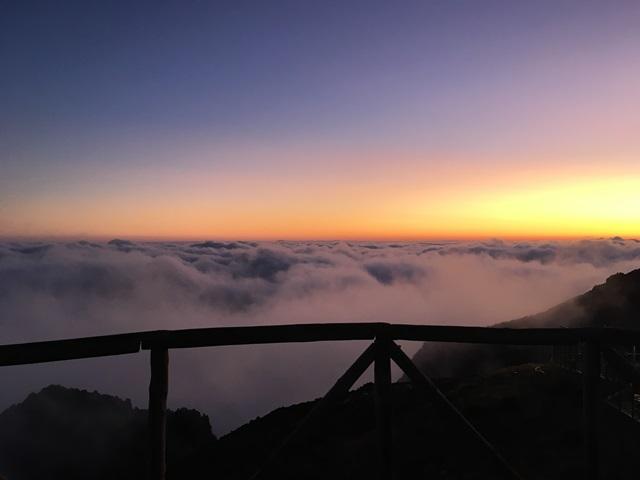 Napfelkelte Madeira