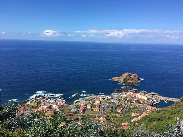 Porto Moniz kilátó