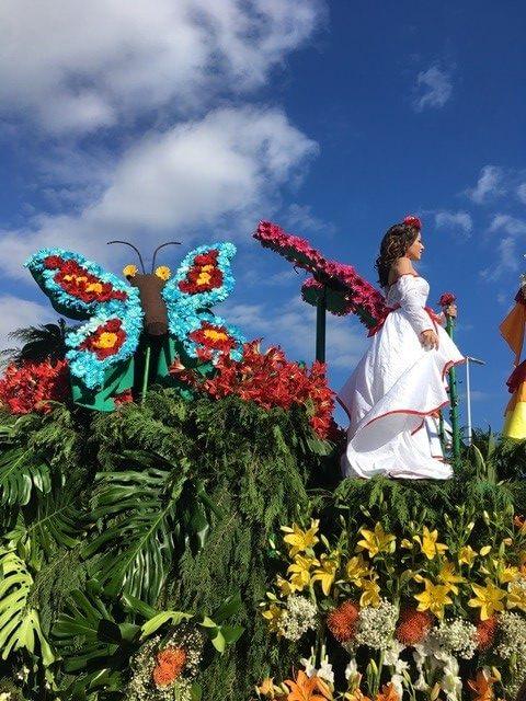 Virágkarnevál Madeira
