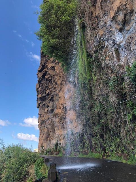 Vízesés Madeira