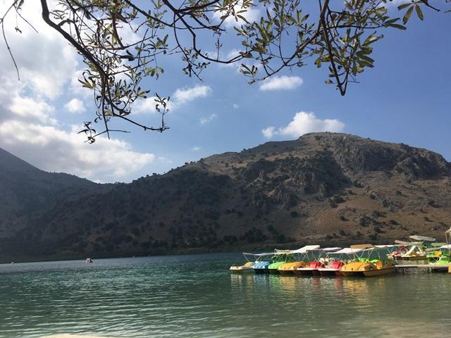 Kournas tó Kréta
