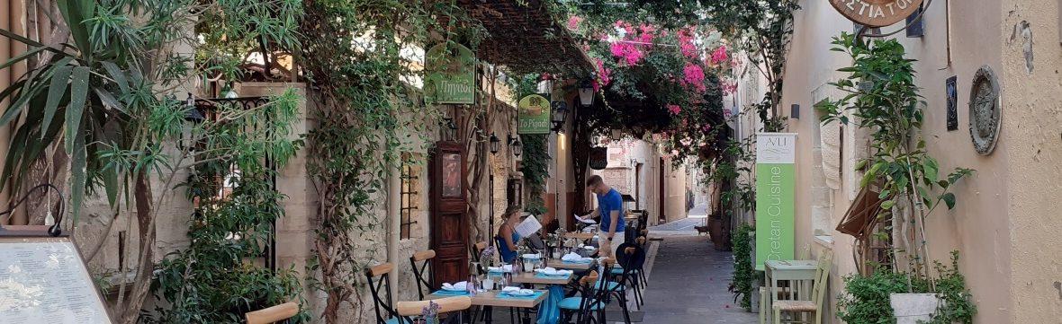 Rethymno éttermek tavernák kávézók