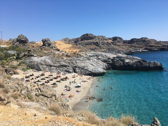 Ammoudaki Kréta strand