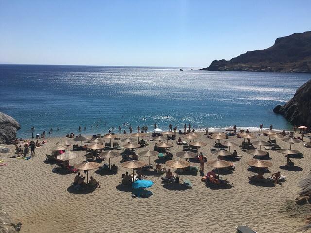 Ammoudaki strand Kréta
