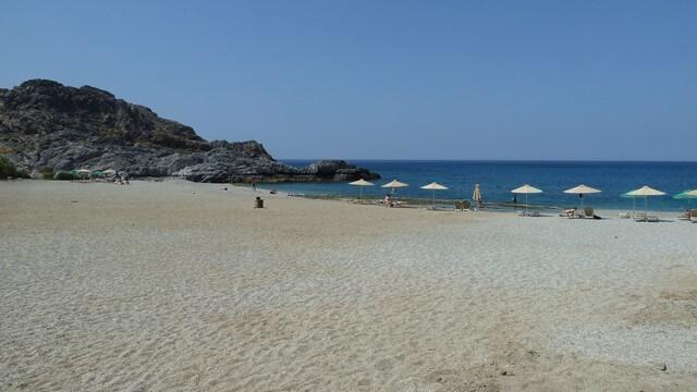 Ammoudi Kréta strand