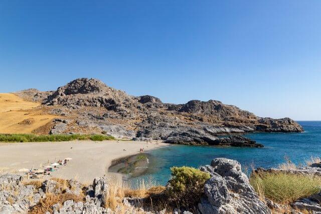 Ammoudi strand Kréta