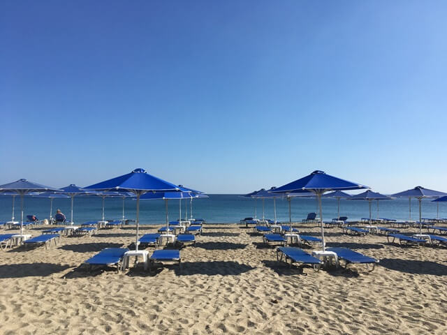 Damnoni strand Kréta