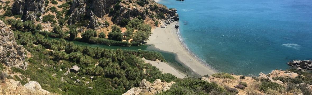 Dél Kréta strandok