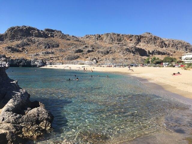 Kréta Skinaria strand