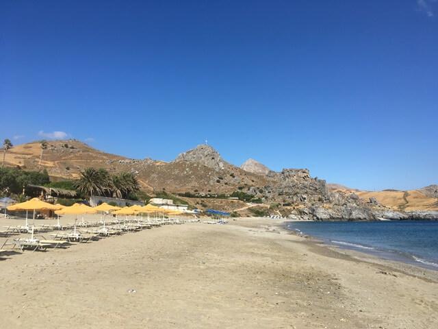 Kréta strand Damnoni