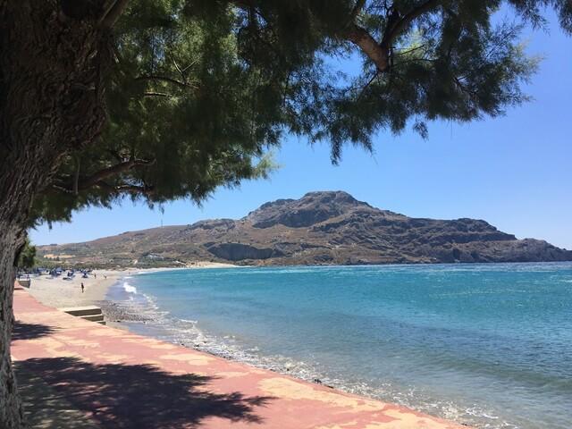 Kréta strand Plakias