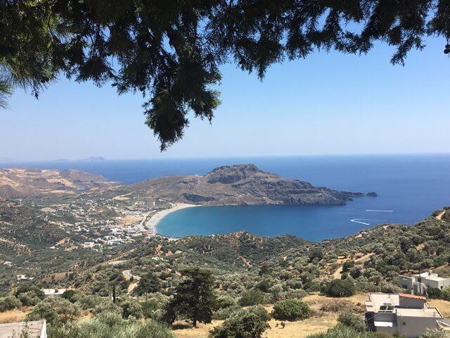 Plakias strand Kréta