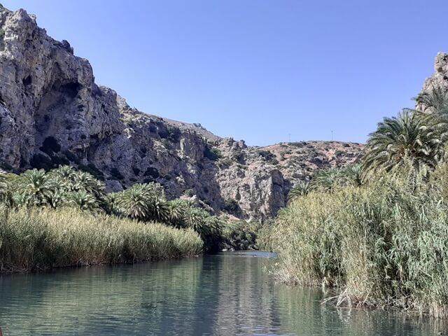 Preveli folyó Kréta