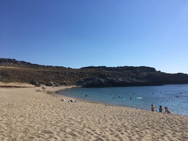 Skinaria Kréta Strand