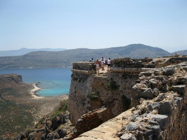 Gramvousa erőd Kréta