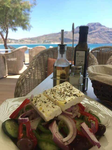 Görög saláta, falusi saláta
