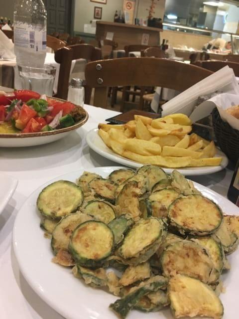 Sült cukkini görög konyha