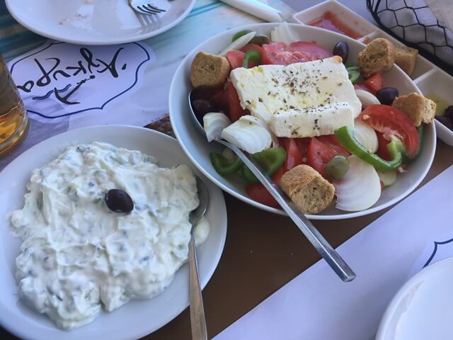 Tzatziki görög konyha